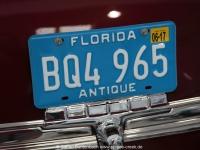 Historisches Florida Autokennzeichen gesehen auf der Spruce Creek Autoschau im May 2015 IMG_0248