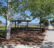 Picknickplatz in Cedar Key.