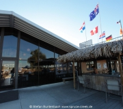 The Perfect Spot ist das Restaurant im Fallschirmzentrum in Deland in Florida.