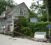 Das älteste Schulhaus der USA aus Holz kann man in Stu. Augustine, Florida, besichtigen.