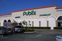 Publix Supermarkt in Port Orange, nahe Spruce Creek in Florida