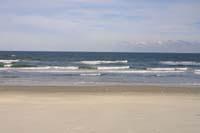 Atlantischer Ozean, nicht weit von Spruce Creek entfernt