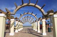 öffentlicher Park am Strand bei Daytona Beach