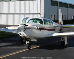 Mooney M20F N6377 at Spruce Creek Fly-In Community in Florida