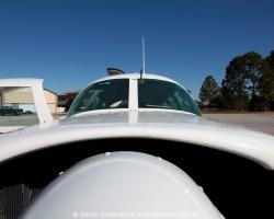 View of Mooney M20F, N6377Q. --- Mooney M20 IMG_6841fl2010