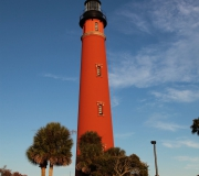 Ponce Inlet Leuchtturm an der Atlantik-Küste in Florida