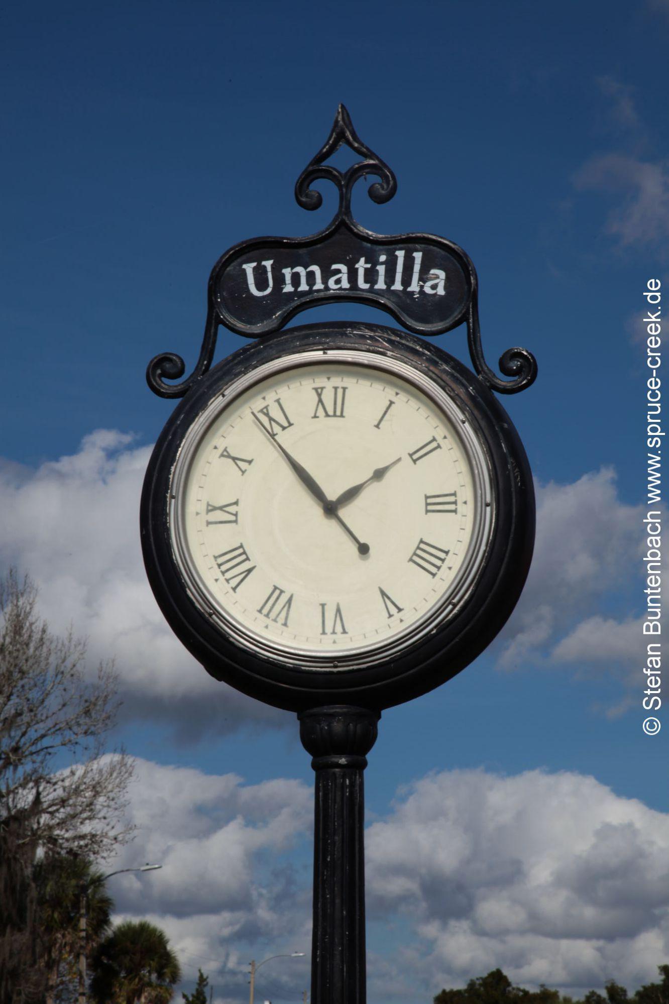 Uhr in Umatilla, Florida --- IMG_8039