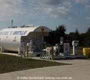 Tankstelle in Umatilla am Airport (X23): Hier gibt es günstiges Flugbenzin für kleine Flugzeuge.