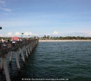 Die Pier von Venice in Florida ist bei Anglern sehr beliebt.